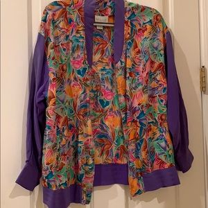 Vintage & Rare Nordstrom Tropical Jacket